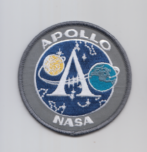 NASA Apollo Program Patch  Souvenir  Version